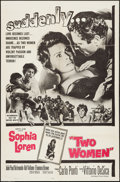 "Movie Posters:Foreign, Two Women (Embassy, 1960). One Sheet (27"" X 41"") & Photos (6) (8"" X 10""). Foreign.. ... (Total: 7 Items)"