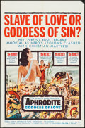 """Movie Posters:Foreign, Aphrodite, Goddess of Love & Other Lot (Embassy, 1958). One Sheets (2)(27"""" X 41""""). Foreign.. ... (Total: 2 Items)"""