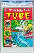 Bronze Age (1970-1979):Alternative/Underground, Tales from the Tube #1 2nd Printing - Haight-Ashbury pedigree (Print Mint, 1973) CGC VF/NM 9.0 Off-white to white pages....