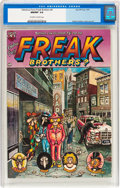 Bronze Age (1970-1979):Alternative/Underground, The Fabulous Furry Freak Brothers #4 (Rip Off Press, 1975) CGC NM/MT 9.8 Off-white to white pages....