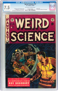 Golden Age (1938-1955):Science Fiction, Weird Science #19 (EC, 1953) CGC VF- 7.5 Off-white to whitepages....