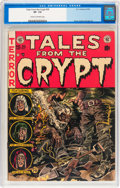 Golden Age (1938-1955):Horror, Tales From the Crypt #30 (EC, 1952) CGC VF- 7.5 Cream to off-whitepages....