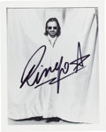 Music Memorabilia:Autographs and Signed Items, Beatles - Ringo Starr Signed Photo....