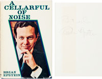 Beatles - Brian Epstein Signed First Edition A Cellarful of Noise Hardback Book (1964).<