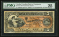 Canadian Currency: , Toronto, ON- Canadian Bank of Commerce $5 May 1, 1912 Ch. #75-14-14a . ...