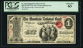National Bank Notes:Missouri, California, MO - $1 Original Fr. 382 The Moniteau NB Ch. # 1712....