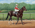 Fine Art - Painting, American:Modern  (1900 1949)  , Richard Stone Reeves (American, 1919-2005). Ruffian. Oil onboard. 13 x 16 inches (33.0 x 40.6 cm). Signed lower right: ...