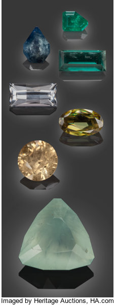Rare Gemstones from Namibia - 30 55 TCW      (Total: 7 Items