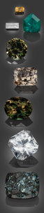 Gems:Faceted, Rare Gemstone Parcel - 66.38 TCW. ... (Total: 8 Items)