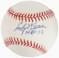 Baseball Collectibles:Balls, Early Wynn Single Signed Baseball....