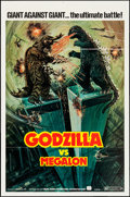 "Movie Posters:Science Fiction, Godzilla vs. Megalon (Cinema Shares International, 1976). FirstU.S. Release One Sheet (27"" X 41"") & Mini Lobby Card (8"" X 1...(Total: 2 Items)"
