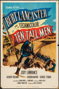 "Movie Posters:Adventure, Ten Tall Men (Columbia, 1951). One Sheet (27"" X 41""). Adventure....."