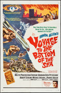"Movie Posters:Adventure, Voyage to the Bottom of the Sea (20th Century Fox, 1961). One Sheet(27"" X 41""). Adventure.. ..."