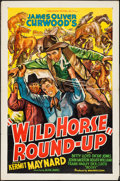"""Movie Posters:Western, Wild Horse Round-Up (Ambassador Pictures, 1936). One Sheet (27"""" X 41""""). Western.. ..."""