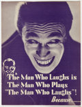Memorabilia:Movie-Related, The Man Who Laughs Trade Magazine Article (1928)....