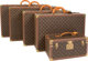 "Louis Vuitton Set of Five; Classic Monogram Canvas Trunks & Travel Case Excellent Condition 32"" Width x 20..."