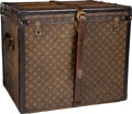 "Luxury Accessories:Travel/Trunks, Louis Vuitton Classic Monogram Canvas Train Case Trunk, circa 1920's. Good Condition. 24"" Width x 19"" Height x 21"" Dep..."