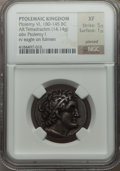 Ancients:Greek, Ancients: PTOLEMAIC KINGDOM. Ptolemy VI (180-145 BC). ARtetradrachm (14.14 gm)....