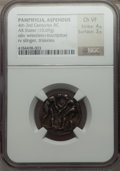 Ancients:Greek, Ancients: PAMPHYLIA. Aspendus. Ca. 420-370 BC. AR stater (10.69gm)....