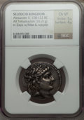 Ancients:Greek, Ancients: SELEUCID KINGDOM. Alexander II Zabinas (128-122 BC). ARtetradrachm (16.21 gm)....