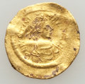 Ancients:Byzantine, Ancients: Justinian I (AD 527-565). AV tremissis (1.42 gm)....