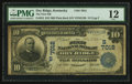 National Bank Notes:Kentucky, Dry Ridge, KY - $10 1902 Plain Back Fr. 624 The First NB Ch. #(S)7012. ...