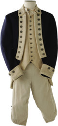 "Movie/TV Memorabilia:Costumes, Heath Ledger ""The Patriot"" Costume. Rising young star Heath Ledgergave his first major U.S. performance opposite Mel Gibso..."