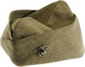 "Movie/TV Memorabilia:Costumes, John Wayne ""Sands of Iwo Jima"" Costume Cap. This olive drabgarrison cap was worn by the Duke in the 1949 war movie ""Sands ..."