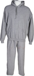 "Movie/TV Memorabilia:Costumes, The 'Meat Locker' Sweat Suit from ""Rocky Balboa"" (aka ""RockyVI"")...."