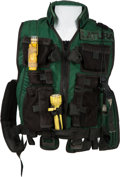 "Movie/TV Memorabilia:Costumes, A Utility Vest from ""Daylight.""..."