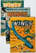 Golden Age (1938-1955):War, Wings Comics Group of 10 (Fiction House, 1942-49).... (Total: 10Comic Books)