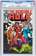 Modern Age (1980-Present):Superhero, The Incredible Hulk #330 (Marvel, 1987) CGC NM/MT 9.8 Whitepages....