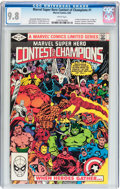 Modern Age (1980-Present):Superhero, Marvel Super Hero Contest of Champions #1 (Marvel, 1982) CGC NM/MT9.8 White pages....