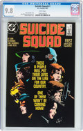Modern Age (1980-Present):Superhero, Suicide Squad #1 (DC, 1987) CGC NM/MT 9.8 White pages....
