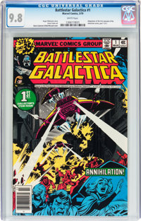 Battlestar Galactica #1 (Marvel, 1979) CGC NM/MT 9.8 White pages