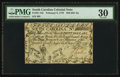 Colonial Notes:South Carolina, South Carolina February 8, 1779 $50 PMG Very Fine 30.. ...