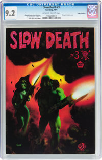 Slow Death #3 Haight-Ashbury pedigree (Last Gasp, 1971) CGC NM- 9.2 Off-white to white pages