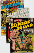 Golden Age (1938-1955):Miscellaneous, The Brave and the Bold #37-39 Suicide Squad Group (DC, 1961) Condition: Average GD.... (Total: 3 Comic Books)