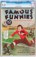 Platinum Age (1897-1937):Miscellaneous, Famous Funnies #15 (Eastern Color, 1935) CGC VG/FN 5.0 Whitepages....