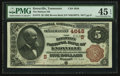 National Bank Notes:Tennessee, Knoxville, TN - $5 1882 Brown Back Fr. 472 The Holston NB Ch. #(S)4648. ...