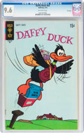 Bronze Age (1970-1979):Cartoon Character, Daffy Duck #63 File Copy (Gold Key, 1970) CGC NM+ 9.6 Off-whitepages....