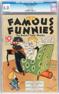 Platinum Age (1897-1937):Miscellaneous, Famous Funnies #12 (Eastern Color, 1935) CGC FN 6.0 Off-whitepages....