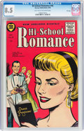 Golden Age (1938-1955):Romance, Hi-School Romance #43 File Copy (Harvey, 1955) CGC VF+ 8.5 Lighttan to off-white pages....