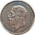 "Great Britain, Great Britain: George V ""Modified Effigy"" Penny 1926 AU Details (Altered Surfaces) PCGS,..."