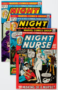 Bronze Age (1970-1979):Adventure, Night Nurse #1-4 Complete Series Group (Marvel, 1972-73) Condition: Average VG/FN.... (Total: 4 Comic Books)