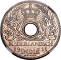 Netherlands East Indies, Netherlands East Indies: Dutch Administration copper-nickel Pattern5 Cents 1911 MS66 NGC,...