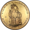 Mexico, Mexico: Republic Commemorative gold Medal ND (1961-1963)-Mo MS66NGC,...