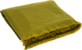 """Luxury Accessories:Home, Hermes Green Cashmere Blanket. Excellent Condition. 50""""Width x 92"""" Length. ..."""