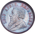 South Africa: Republic Penny 1892 MS65 Brown NGC