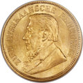 South Africa, South Africa: Republic gold 1/2 Pond 1897 MS64 NGC,...